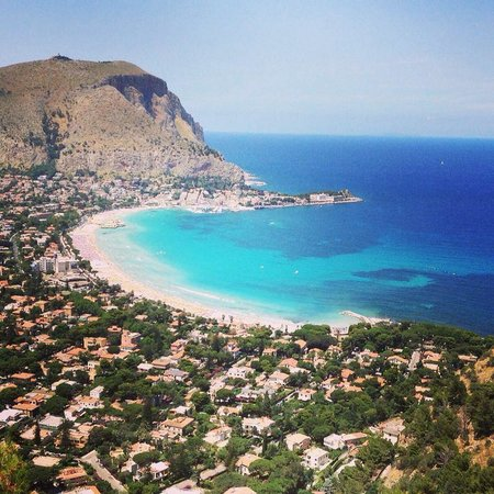 B&B Mondello Resort : View from nearby