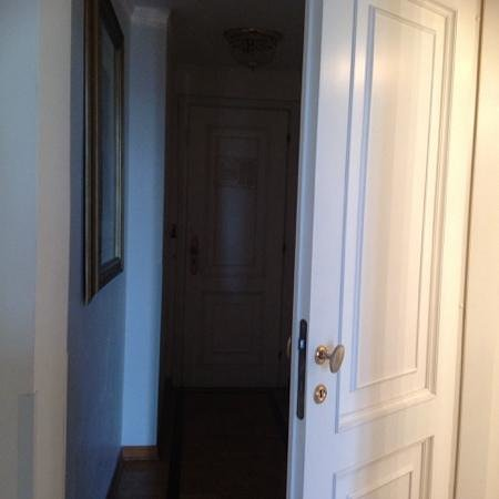 Grand Hotel Parker's : entrata camera