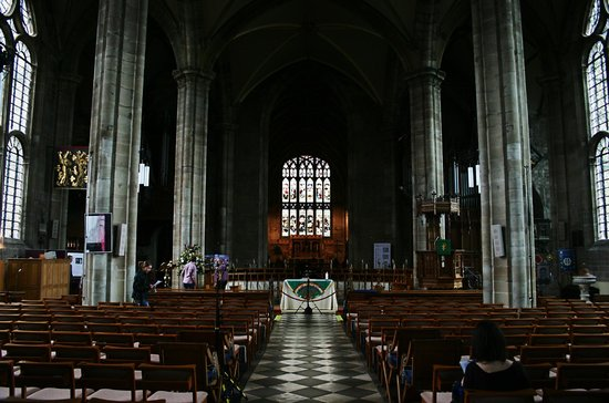 Collegiate Church of St Mary's: The nave