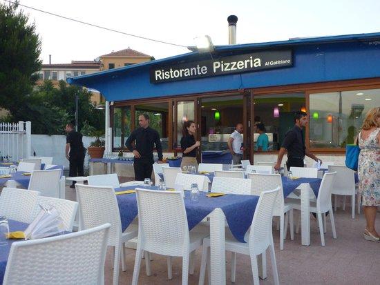Al Gabbiano : Outdoor Seating
