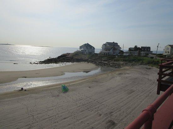 Cape Ann Motor Inn: view from balcony 3rd floor