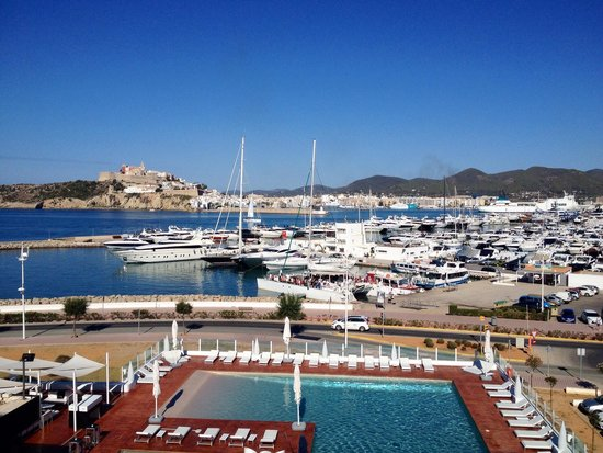 Ibiza Corso Hotel & Spa: View from balcony of room 217