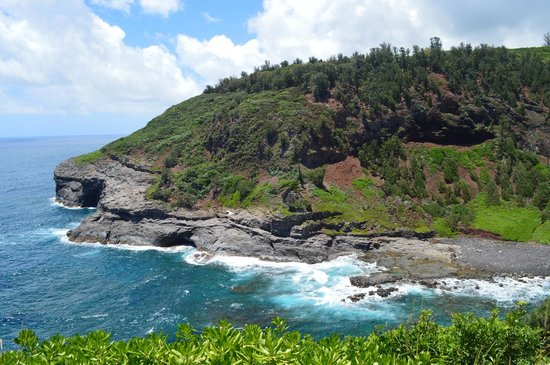 Kilauea Point National Wildlife Refuge: view across from lighthouse