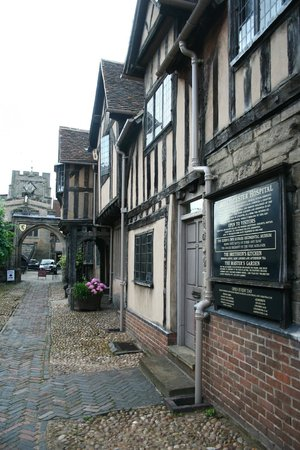 Lord Leycester Hospital: The façade