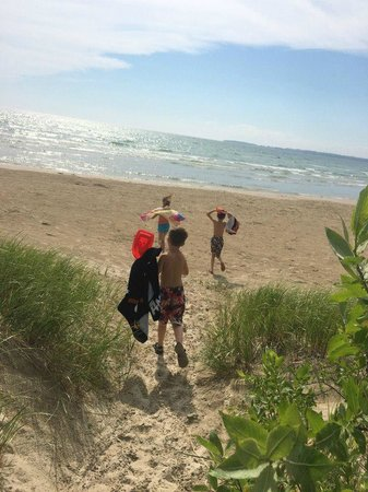 Sandbanks Provincial Park: past the dunes, and onto the beach