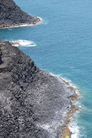 Kilauea Point National Wildlife Refuge: view on oppisite side of lighthouse