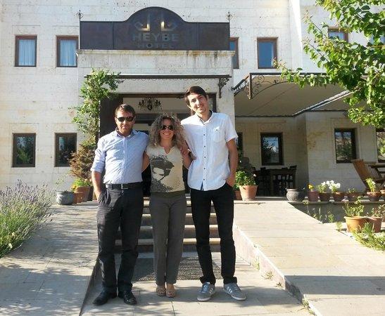 Heybe Hotel : My 2 wonderful body guards!