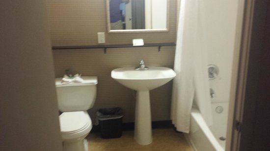 Mediterranean Inn: Standard looking bathroom