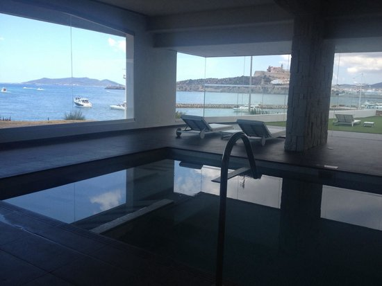Ibiza Corso Hotel & Spa: View from the spa pool