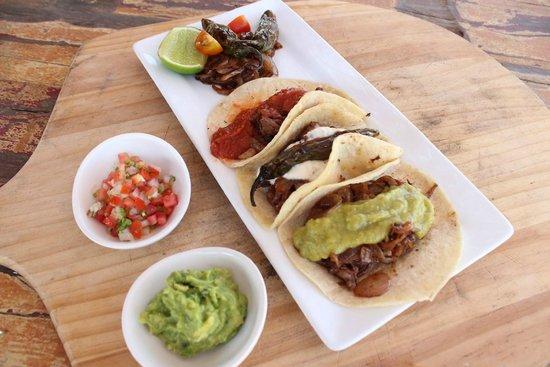 Rancho Pescadero: Carne Asada tacos - 3 ways!
