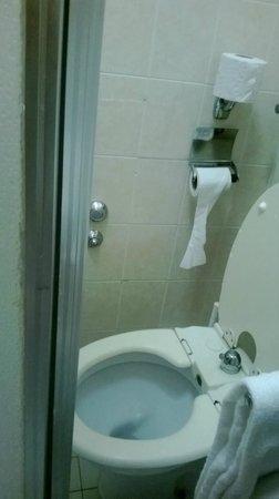 Hotel Maxi Heron: Il mini-bagno