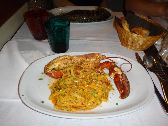 L'Osteria San Barnaba Ristorante: Паста с лобстером