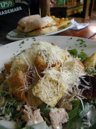 The Garden Cafe : Chicken Caesar Salad