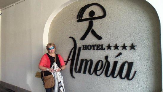 Hotel Almeria: entrada