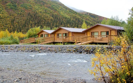 Denali Backcountry Lodge: Creekside Cabins