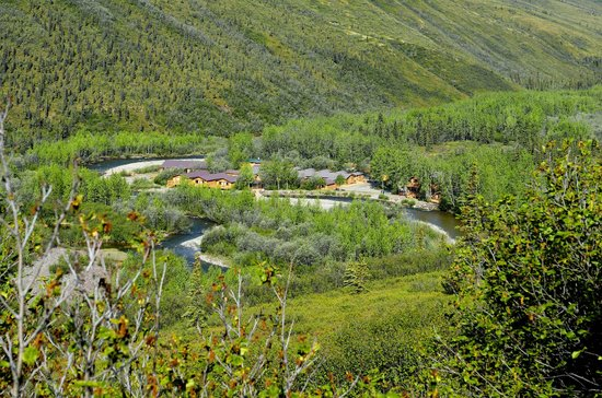 View of Denali Backcountry Lodge