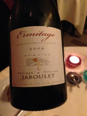 Restaurant Guy Savoy : Vin på glas