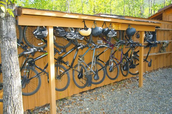 Denali Backcountry Lodge: Mountain bikes are available for guests to use