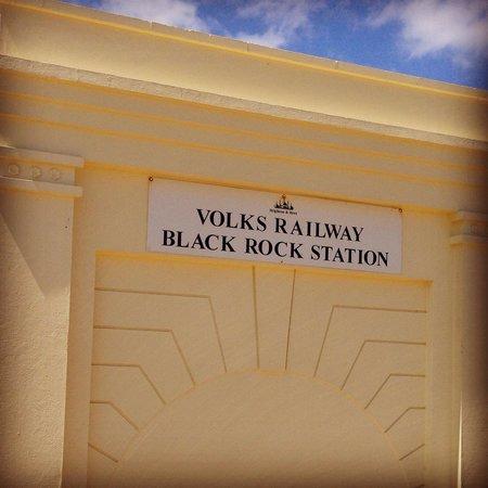 Volk's Electric Railway : At Brighton marina