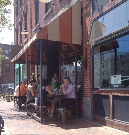 Duckfat : outside seating