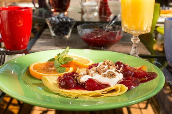 Bella Roma Bed and Breakfast: Delicious complementary breakfast