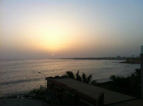 Hotel Sokhamon : View from hotel