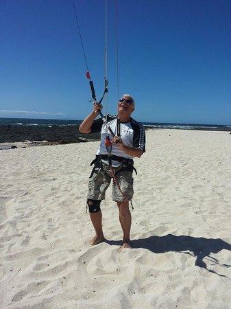 Tarpons Bay Kitesurf School: Prova in spiaggia