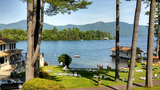 Chelka Lodge on Lake George: The view from our room