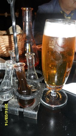 Taverna Sarbului: the best nut brandy, goes with beer :)