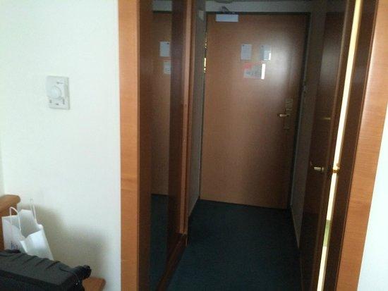 Novotel Poznan Centrum: entrée chambre