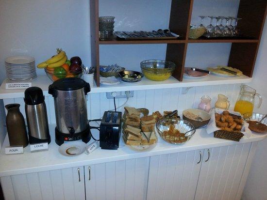 Hotel Milano : Café da manhã