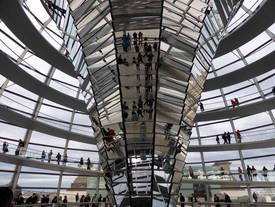 Plenarbereich Reichstagsgebäude: Reichstag Building 1