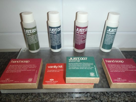 Crowne Plaza Copenhagen Towers: Toiletries supplied in executive room
