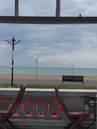 Burlington Hotel: View from breakfast area