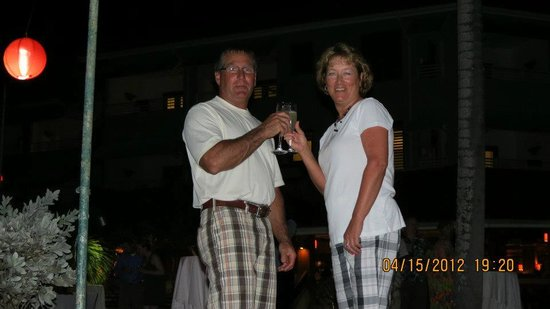 Couples Negril: Toasting another great vacation