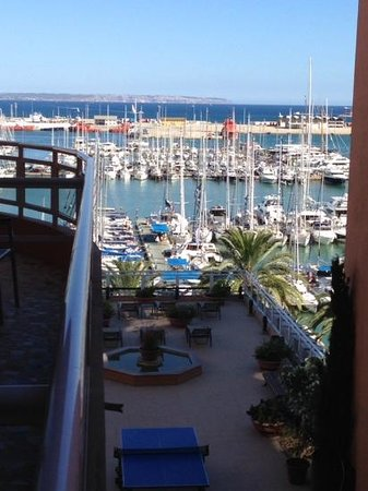 Hotel Mirador: view from balcony