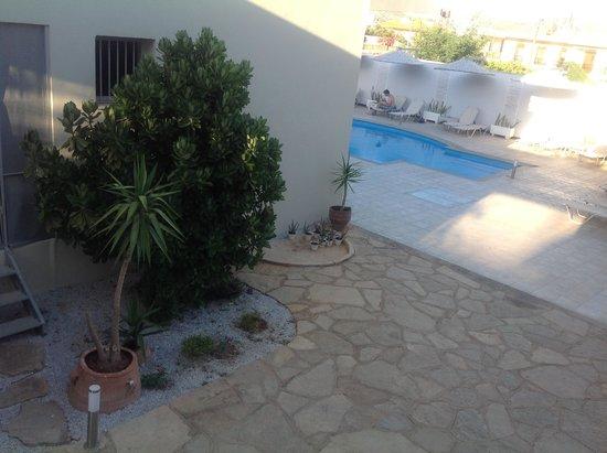 Elounda Garden Suites : View from the patio