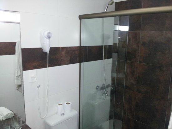Hotel Milano : banheiro