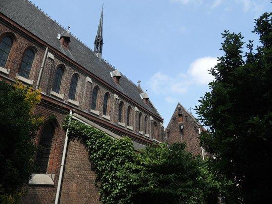 Poortackere Monasterium Hotel: Courtyard