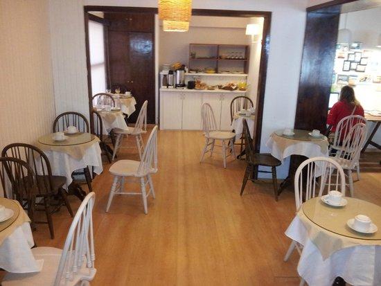 Hotel Milano: sala do café da manhã