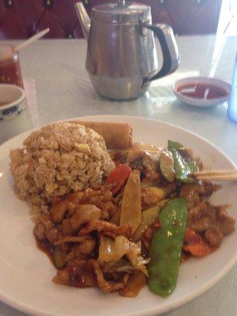 Grand China Restaurant: Schwann Pork Stir Fry