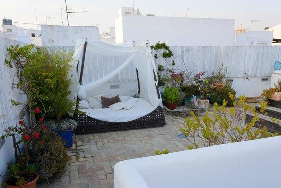 La Princesa y El Guisante Hotel: Dachterrasse 01