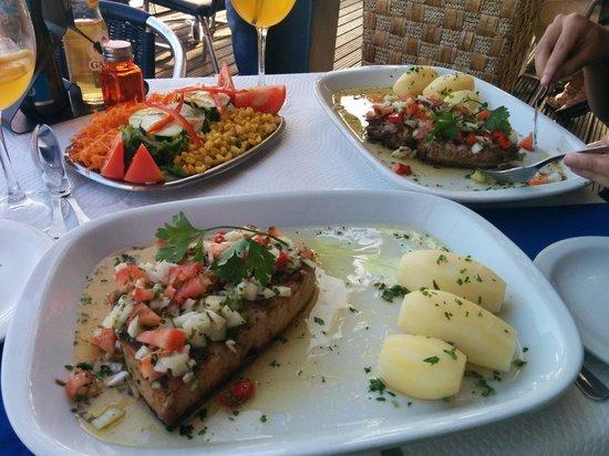 Restaurant & Grill Muralha: Tune steak