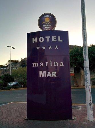 Servigroup Marina Mar: Cartel identificativo