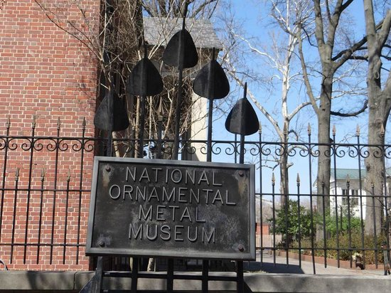 Metal Museum: Sign by the permanent collection