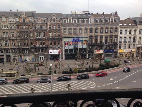 Hotel Metropole: Вид из окна