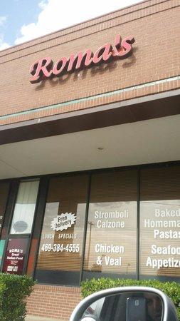 Roma's Italian Restaurant: Roma's new sign