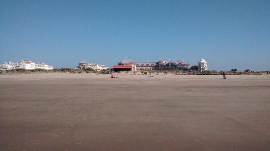 Melia Atlantico Isla Canela: hotel desde la playa