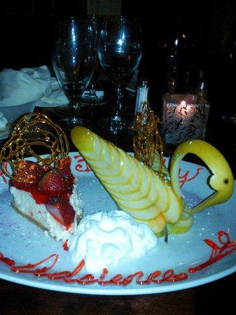 Erini Restaurant : Outstanding Birthday Plate!