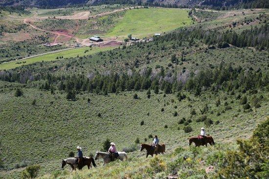 Black Mountain Ranch : mountain ride